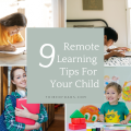 Remote Learning Tips For Kids